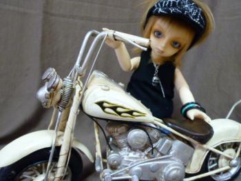 颯のバイク1