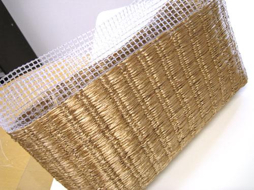 エコアンダリヤで編むバッグ