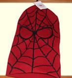 スパイダーマンのマスク