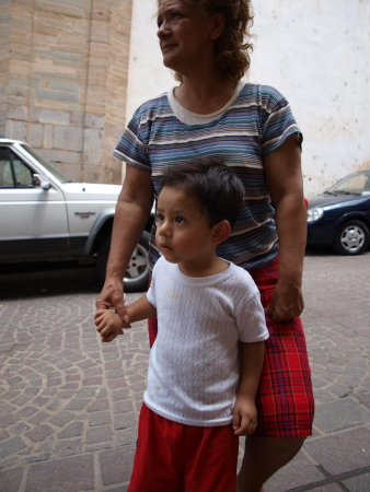 Guanajuato Mother and Child