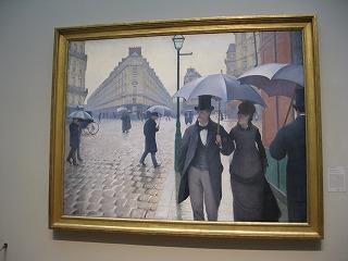 パリの雨井の日