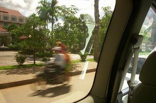 カンボジア国道6号線