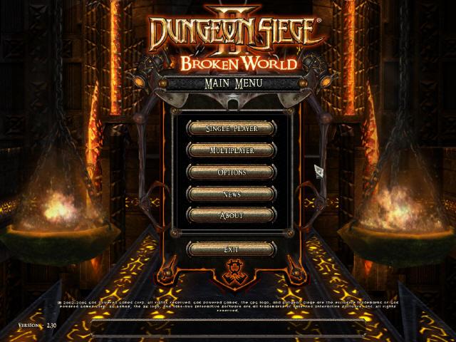 ダンジョン シージ2 ブロークン ワールド dungeon seige 2 broken