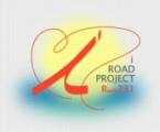 あいロードプロジェクトロゴ:あいロードプロジェクトの象徴となる「愛」をハートで表現し、ishikariの3つのi「いしかり」、「あい風」、「愛冠」の頭文字のiを石狩から浜益までを結ぶ国道231号に見立てています。iの字を筆記体で表現することで、同プロジェクトの主役である人や本市と隣接する増毛、滝川、当別などと連携し、広域観光圏の形成を目指すことを表しています。また、背景に黄色く輝く円は、太陽、そしてその下に大きく広がる青色のグラデーションは、石狩川が織り成す青、水色、エメラルドグリーンなどに輝く七色の海「石狩湾ブルー」を表し、太陽と海が重なり合うことで、夕陽がきれいな石狩を表しています。