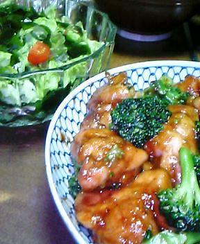2007.05.23鶏照り焼き