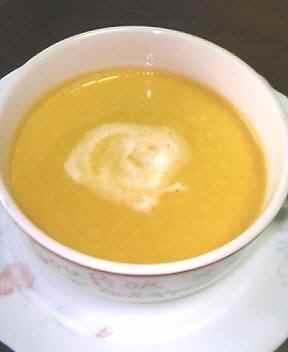 2007.07.16かぼちゃのスープ