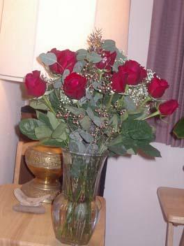 V-dayのバラ