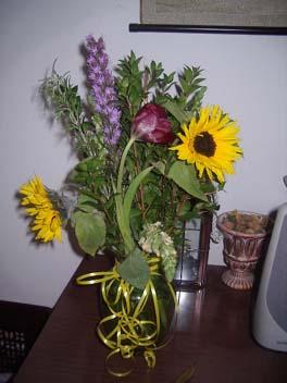 ケビンとセリーナの花