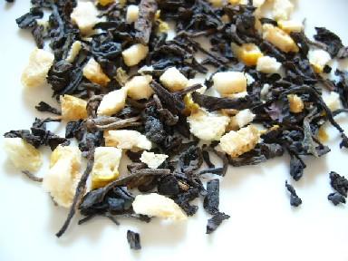ゆずプーアール茶・茶葉