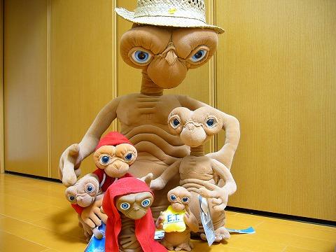 E.T.がいっぱい。