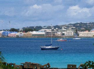 カリブの島国 バルバドス   ラテ...