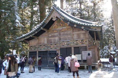 神厩舎(三猿)