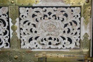 坂下門内の装飾
