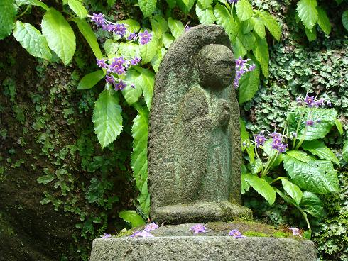東慶寺・岩たばこ