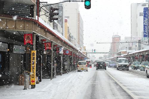 毎日 降っています♪ 会津若松市...