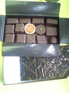おフランスチョコレート。