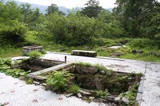 立山温泉跡