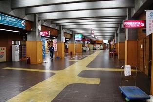 朝の室堂駅