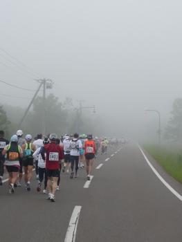 まだまだ霧が晴れません