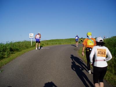 最後の坂 ラスト4キロ