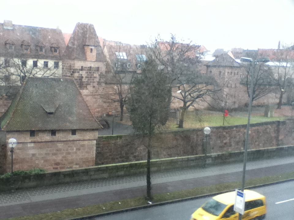 ニュルンベルグホテルからの眺め