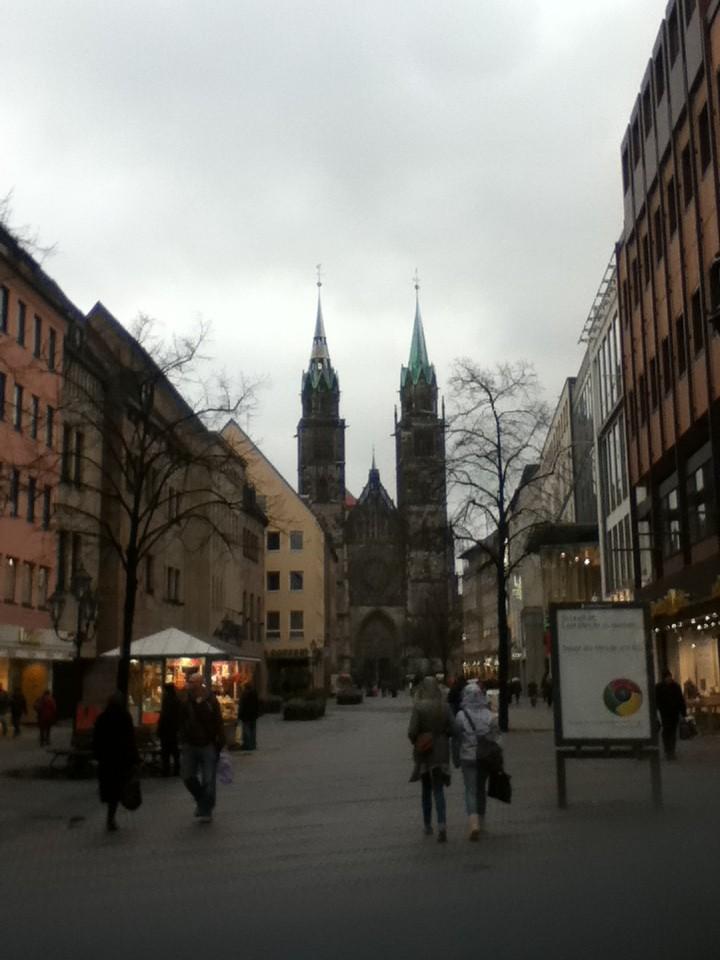 ニュルンベルグ市街地