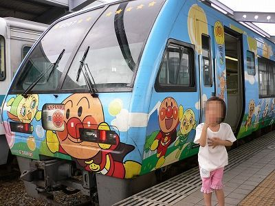 アンパンマン電車