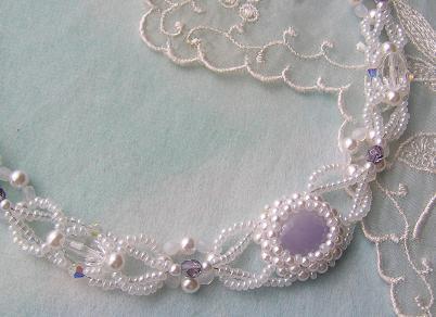 紫翡翠ネックレス