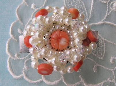 帯留め板珊瑚