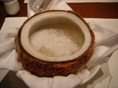 ツバメの巣のココナッツミルク煮