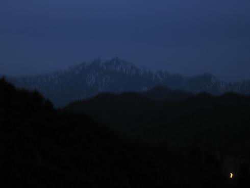 福島県会津の山