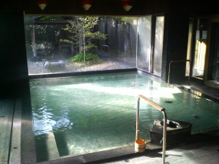 茶寮宗園の大浴場