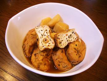 がんもと里芋の煮物.