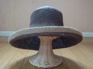 2009 マニラヘンプの帽子.JPG