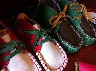 全て手作り仕様の赤ちゃんの靴★