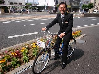 自転車貸出しております★