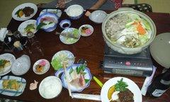 6日の夕食