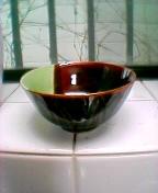 陶器の汁椀