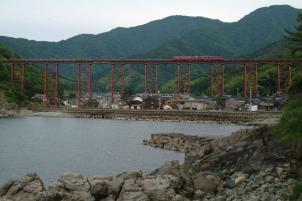 餘部の鉄橋