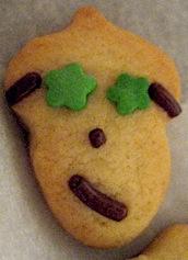 ニヒルなクッキー