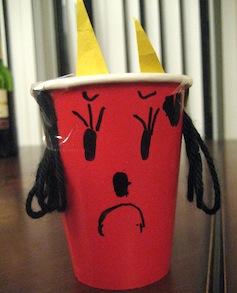 鬼のカップ