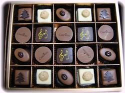 おしゃれなチョコレートがいっぱい~♪