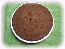 ダブルチョコレートケーキ作ったんだけど・・・ちょっと失敗かなぁ。。。