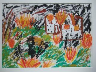 コソボの子供の絵ー2