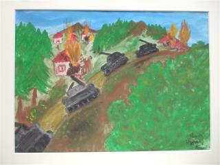 コソボの子供の絵ー3