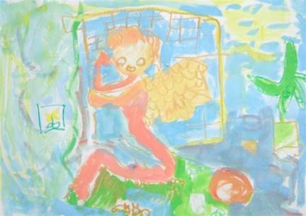 2011012子供の絵 天使1