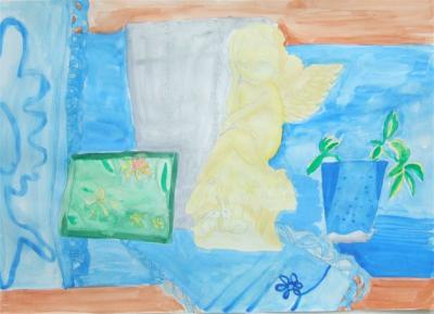 20110112天使の子供の絵