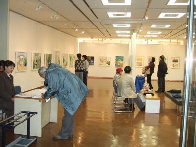20110512絵画教室展