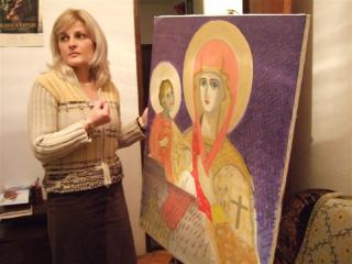 コソボの画家1