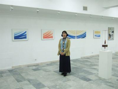コソボでの展覧会 「国際平和展・コソボ」